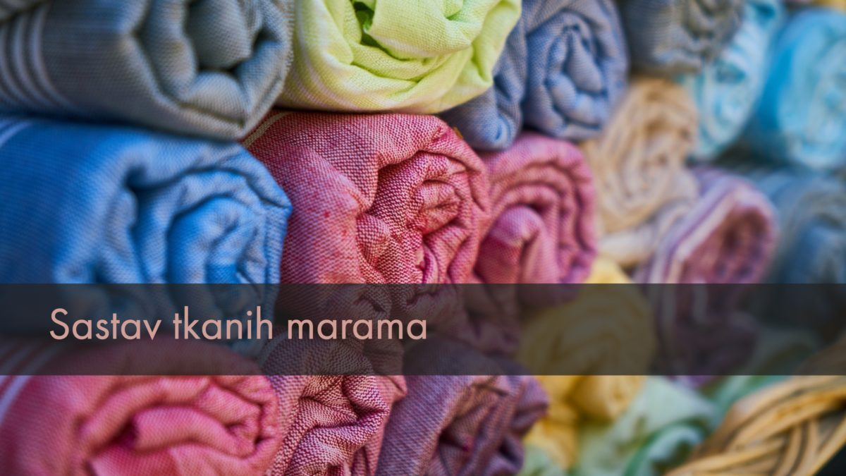 sastav tkanih marama
