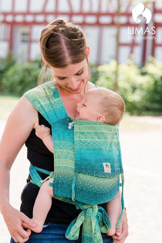 LIMAS Baby Carrier Didymos Ada Malachit