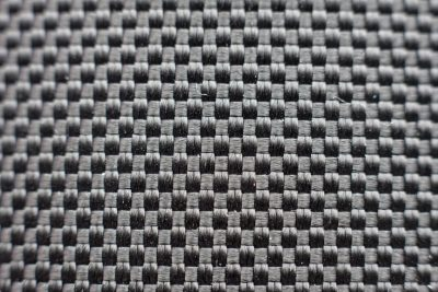 Thick plain weaved fabric texture from slim fibers