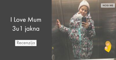 I Love Mum 3u1 jakna